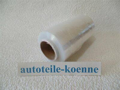 Folienmesser Wickelfolie Set 1 Abroller 1x Stretchfolie 300m x 125mm incl