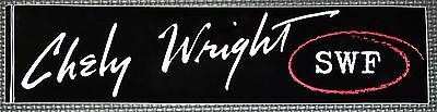 """Chely Wright """"SWF"""" RARE Car Bumper Sticker Country Music Decal 3x11"""" *NEW*"""