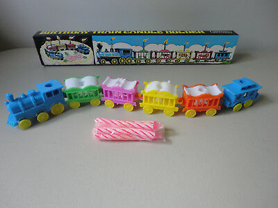 Vintage Train Birthday Cake Topper
