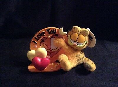 Garfield and Frame 'I Love You' - 10cm Height