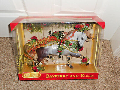 Breyer Horse BAYBERRY AND& ROSES 2014 Holiday-Esprit mold#700117 shaded grey MIB