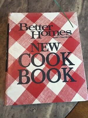 Vintage Better Homes and Gardens New Cook Book 5 ring binder 1968 1969 VGUC