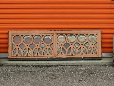 antique vintage transom windows old architectural leaded glass stained glass