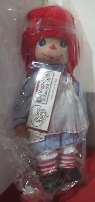 """Precious Moments 12"""" Raggedy Ann Girl Doll NEW #4557 Timeless Traditions Classic"""