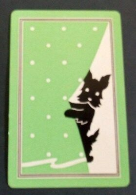 Swap playing cards     x  1  Terrier Dog