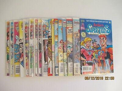 Lot Of (17) Archie Related Comic Books