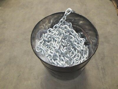 8mm Anchor Chain - Grade L short link h/d  galvanised - marine -sold per meter