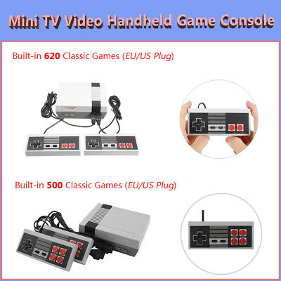 Mini Retro TV Video Handheld Game Console 2/4 Keys Built-in Classic Game for NES