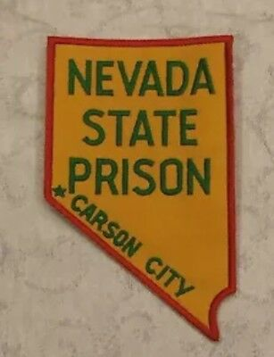 Defunct Carson City Nevada State Prison Old Style Police Patch