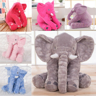 Long Nose Elephant Pillow Dolls Toys Baby Soft Plush Cushion Household Sofa Mat
