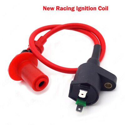 Racing Ignition Coil For Dio Elite SB50 SA50 Spree SYM DD50 Arnad Scooter Moped