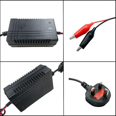 Smart 12V 1300mA Sealed Lead Acid Battery Charger Intelligent Automatic Trickle