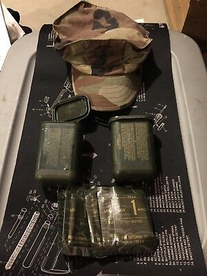 DECONTAMINATION KIT & Marines Camo Cap U.S.A. FREE SHIPPING