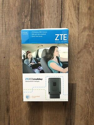 ZTE MOBLEY 4G LTE Wi-fi Hotspot VM6200 Connected Car AT&T