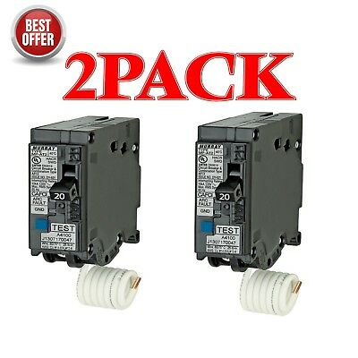 SIEMENS / MURRAY MP120AFC 20-Amp 1Pole AFCI  Arc Fault Circuit BREAKER  (2 pack)