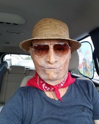 Old Man Latex  Mask - Mask, Very  REAL without  Hair