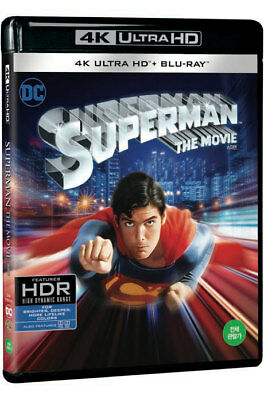 Superman (2018) Blu-ray + 4K UHD / The Movie