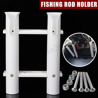 Double Tube Fishing Rod Holder Rack Pole Support Tool For Marine Boat Kayak