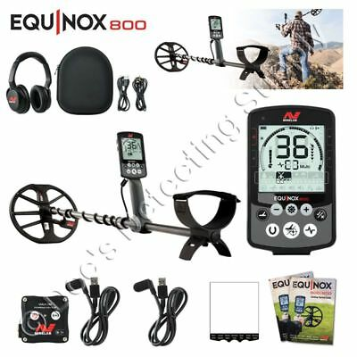Minelab Equinox 800 from Doc, Authorized Minelab Dealer! 11 in and 6 in coil