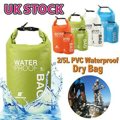 2L 10L 30L Waterproof Dry Bag Sack Kayak Sailing Fishing Camping Float Canoe