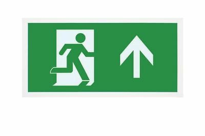 Integral LED 3.3W Maintained LED Exit Sign box with UP arrow legend included