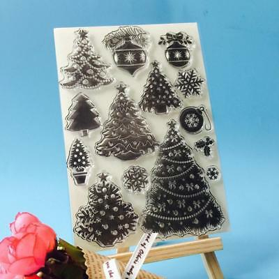 Christmas hanger Transparent Silicone Stamp Clear DIY Scrapbooking Craft Stamps