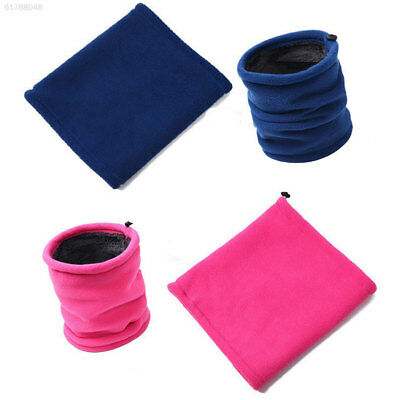 91E7 5 Colors Cotton Warm Neck Scarf Women Snood Scarf Maks Cap Unisex