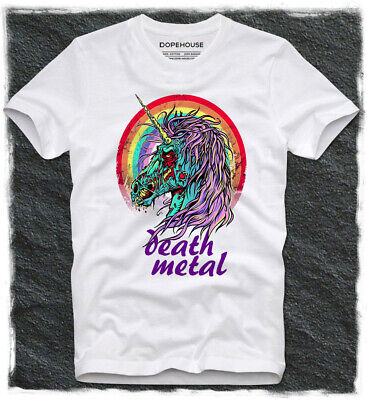 Hotbox T Shirt Fun Funny Death Metal Unicorn Zombie Hipster Dope Swag Heavy