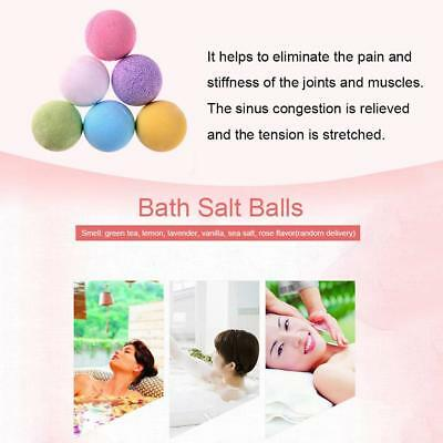 1x Organic Bath Bomb Natural Flavor Stress Relief Whitening Shower Bomb Random