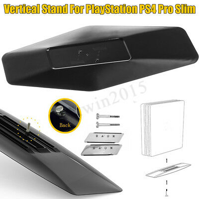 Set 2 in 1 staffa verticale Supporto protettivo ABS Per PlayStation PS4 Pro Slim