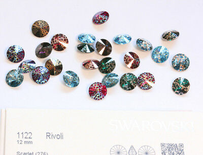 Genuine SWAROVSKI 1122 Rivoli Round Stones Crystals * NEW Patina Effects