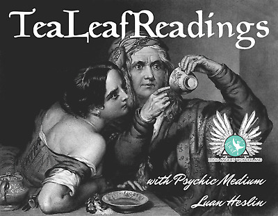 Tea Leaf Reading (in person) 40mins