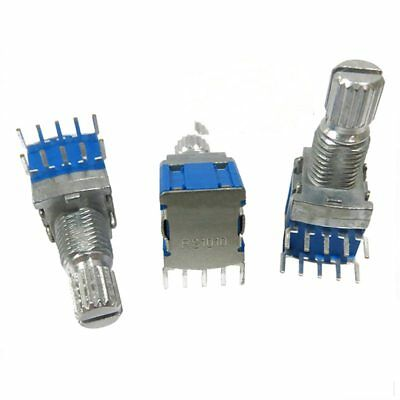 4 pcs silver + blue metal RS1010 band switch rotary switch gear change swit T6G1