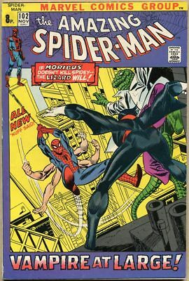Amazing Spider-Man #102 - FN+ - 2nd Appearance Of Morbius