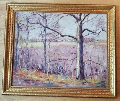 VERY NICE, Signed/Framed Oil on Board - Franklin Bennett (1908-2005)