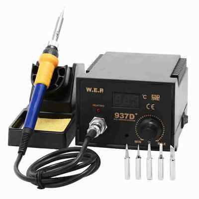 WEP 60W Soldering Iron Station ESD Safe Digital Display 937D+ Kj