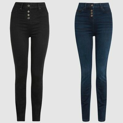 Ladies Next Super High Waist Skinny Jeans Sizes 8 10 12 14 18