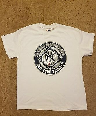 Vintage Ny Yankees Majestic Authentic 1999 World Series Champions Shirt  Mens Xl e4974deaf