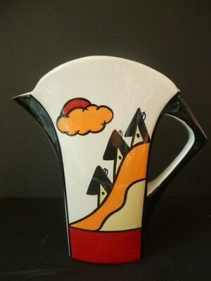 Lorna Bailey 'someville' Jug Unused & Signed Lovely