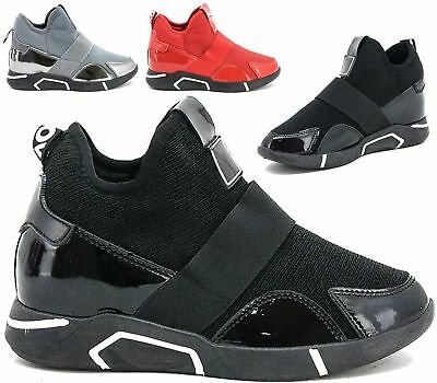 New Ladies Womens Sport Gym Trainers Fitness Fashion Lace Up Sneakers Shoes