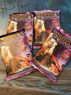 Wiz Kids Pirates at Ocean's Edge Mint Booster Pack 2 Packs