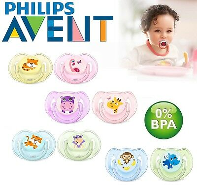 Philips Avent Baby Soother Dummy Nipple 0-6m / 6-18m Pacifier Classic