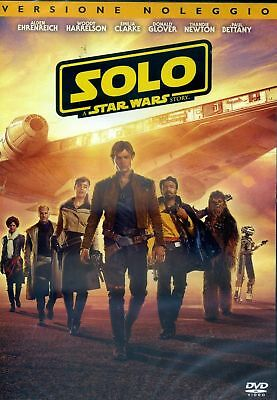 Dvd Star Wars - Solo: A Star Wars Story - (Ex Rental) .....NUOVO