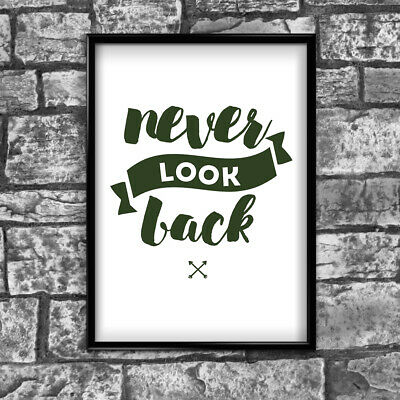 Motivational Inspirational Positive Thoughts Quote Picture Poster Print Wall 115