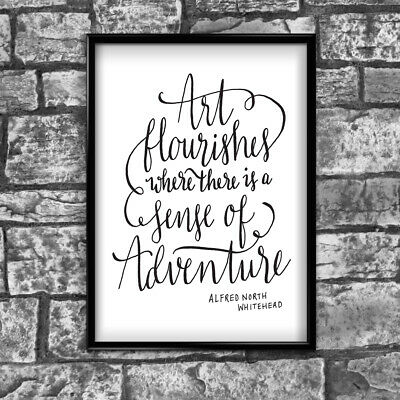 Motivational Inspirational Positive Thoughts Quote Picture Poster Print Wall 124