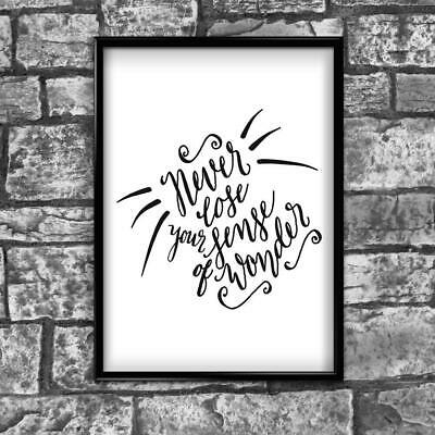 Motivational Inspirational Positive Thoughts Quote Picture Poster Print Wall 146