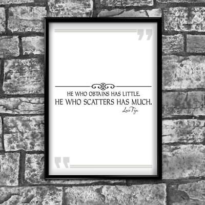 Motivational Inspirational Positive Thoughts Quote Picture Poster Print Wall 234