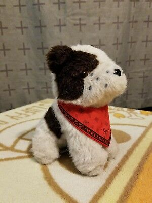 """Wells Fargo Approx 7"""" Jack The Dog Plush By Pint Size Productions"""