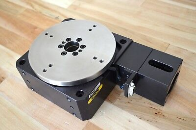 """New Parker R150M 6"""" Precision Rotary Stage with Nema23 Motor Mount -CNC 4th Axis"""