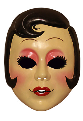 """""""The Strangers Prey At Night"""" """"Pin Up Girl"""" Licensed PVC Movie Character Mask"""